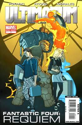 Ultimatum: Fantastic Four Requiem Vol 1