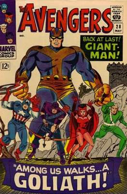 The Avengers Vol. 1 (1963-1996) (Grapa) #28