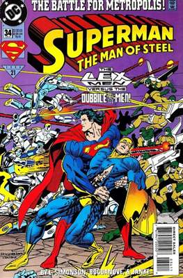 Superman: The Man of Steel (Comic book) #34