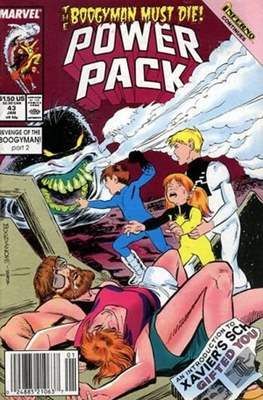 Power Pack (1984-1991; 2017) (Grapa) #43