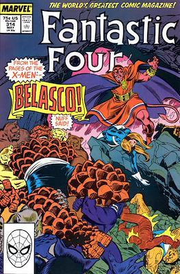 Fantastic Four Vol. 1 (1961-1996) (saddle-stitched) #314