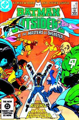 Batman and the Outsiders (1983-1987) (Comic Book) #10