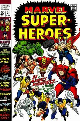 Marvel Super-Heroes (Grapa) #21
