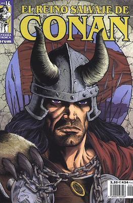 El Reino Salvaje de Conan (Grapa 48-80 pp) #16