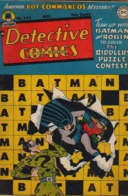 Detective Comics Vol. 1 (1937-2011; 2016-) (Comic Book) #142
