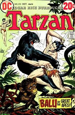 Tarzan (Comic-book) #213