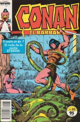 Conan el Bárbaro (1983-1994) (Grapa. 19x27. 36/32/24 páginas. Color.) #33