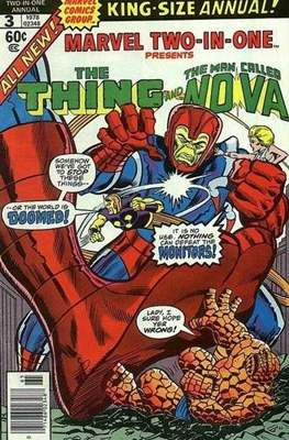 Marvel Two-in-One Annual (Comic Book. 1976 - 1982) #3