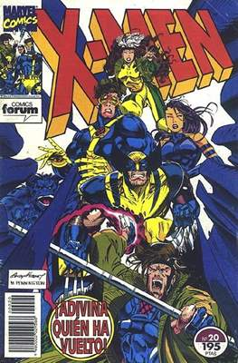 X-Men Vol. 1 (1992-1995) (Grapa 32 pp) #20