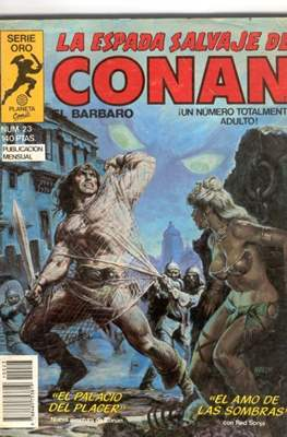 La Espada Salvaje de Conan. Vol 1 (1982-1996) (Grapa. B/N.) #23