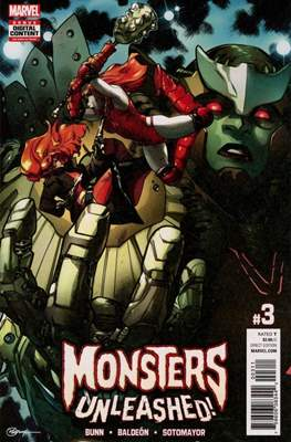 Monsters Unleashed (2017-...) (Comic-book) #3