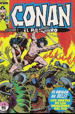 Conan el Bárbaro (1983-1994) (Grapa. 19x27. 36/32/24 páginas. Color.) #5