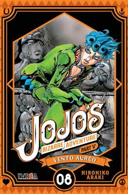 JoJo's Bizarre Adventure - Part V: Vento Aureo (Rústica con sobrecubierta) #8