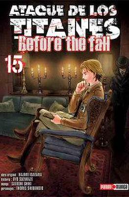 Ataque de los Titanes: Before the Fall #15