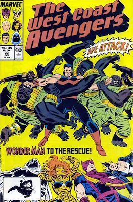 West Coast Avengers Vol. 2 (Comic-book. 1985 -1989) #33