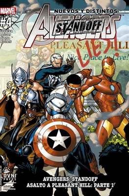 Nuevos y Distintos Avengers (Rústica) #4