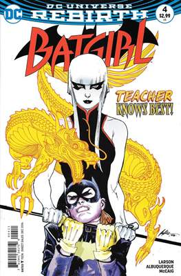 Batgirl Vol. 5 (2016-) (Comic Book) #4