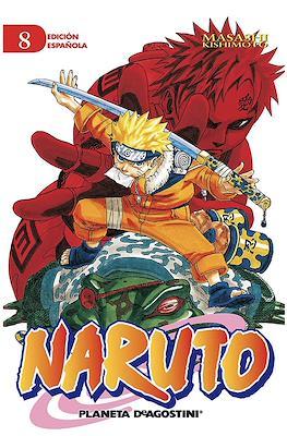 Naruto (Rústica con sobrecubierta) #8