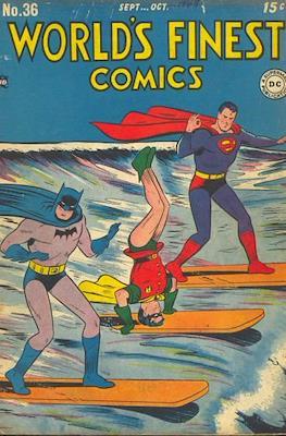 World's Finest Comics (1941-1986) (Comic Book) #36