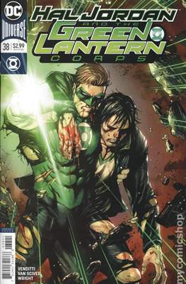 Hal Jordan and the Green Lantern Corps (Vol. 1 2016-2018 Variant Cover) (Comic Book) #38
