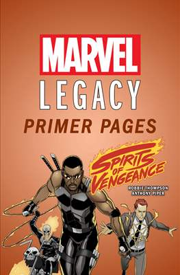 Spirits of Vengeance: Marvel Legacy Primer Pages