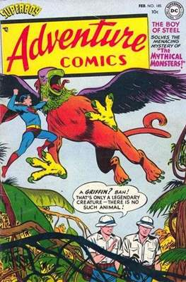 New Comics / New Adventure Comics / Adventure Comics (1935-1983 ; 2009-2011) #185