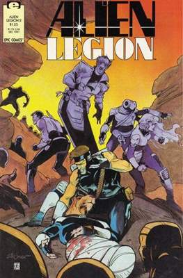 Alien Legion Vol 2 (Comic Book) #2