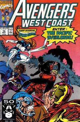 West Coast Avengers Vol. 2 (Comic-book. 1985 -1989) #70