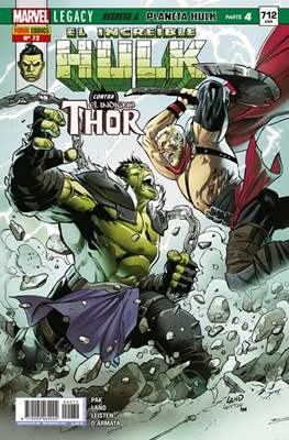 El Increíble Hulk Vol. 2 / Indestructible Hulk / El Alucinante Hulk / El Inmortal Hulk (2012-) (Comic Book) #72
