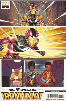 Ironheart (2018- Variant Cover) #2