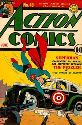 Action Comics Vol. 1 (1938-2011; 2016-) (Comic Book) #49