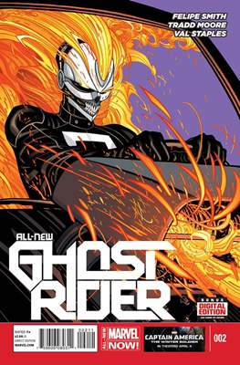 All New Ghost Rider (2014-) (Comic book) #2