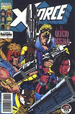 X-Force Vol. 1 (1992-1995) (Grapa 24-32 pp) #22