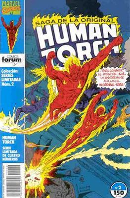 Saga de la original Human Torch (Grapa. 17x26. 24 páginas. Color) #2