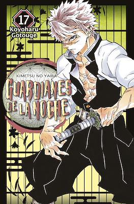 Guardianes de la noche (Kimetsu no Yaiba) (Rústica) #17