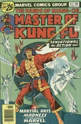 Master of Kung Fu (Comic Book. 1974 - 1983. Continued from Special Marvel Edition #16) #41