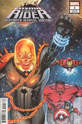 Cosmic Ghost Rider Destroys Marvel History (2019 - Variant Cover) (Comic Book) #1.1