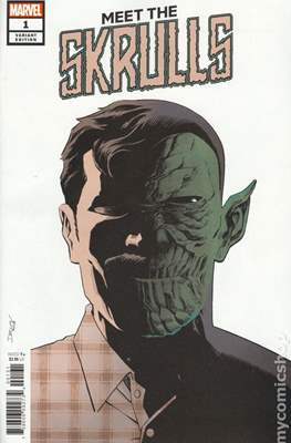 Meet the Skrulls (Variant Cover) (Comic Book) #1.1
