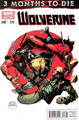 Wolverine (2014 Variant Cover) (Comic Book) #8