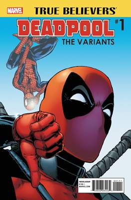 True Believers: Deadpool - The Variants