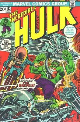 The Incredible Hulk Vol. 1 (1962-1999) (Comic Book) #163