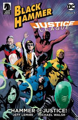 Black Hammer / Justice League: Hammer of Justice (Variant Cover)