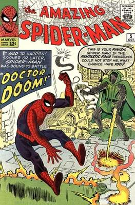 The Amazing Spider-Man Vol. 1 (1963-1998) #5