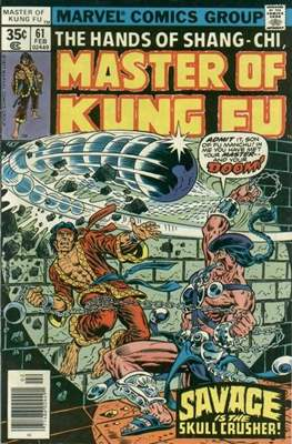 Master of Kung Fu (Comic Book. 1974 - 1983. Continued from Special Marvel Edition #16) #61