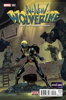 All-New Wolverine (2016-) (Comic book) #2