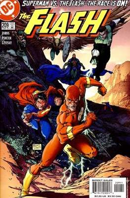 The Flash Vol. 2 (1987-2006) (Comic Book) #209