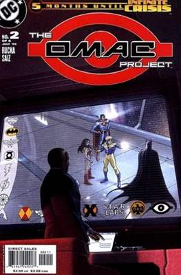 The OMAC project (2005) (Comic book) #2