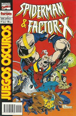 Spiderman y Factor-X: Juegos oscuros (1995) (Grapa) #1