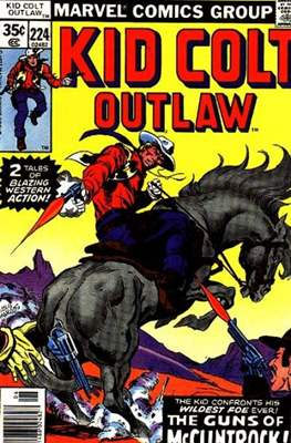 Kid Colt Outlaw Vol 1 (Comic-book.) #224