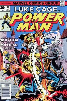 Hero for Hire/Power Man Vol.1 (1972-1978) (Grapa, 32 págs.) #39